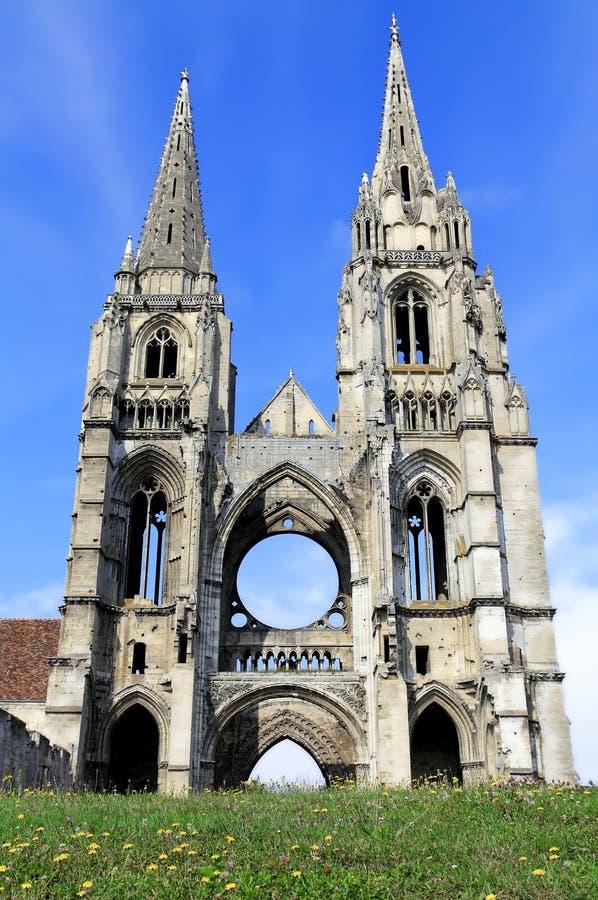 Abbey Of St-Jean-des Vignes, Soissons Stock Photography