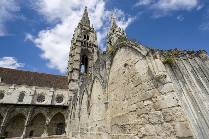 Abbey Of St-Jean-des Vignes In Soissons Royalty Free Stock Photography