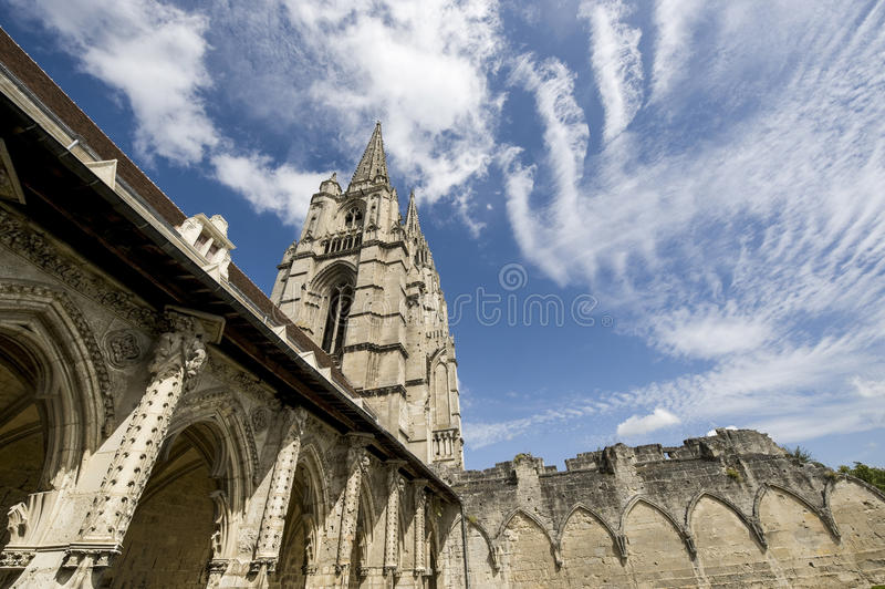 Download Abbey Of St-Jean-des Vignes In Soissons Stock Image - Image: 27464245