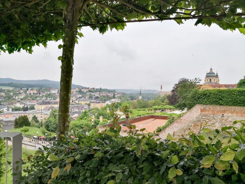 Abbey Stift Monastery en una Austria más baja del interior imagen de archivo libre de regalías