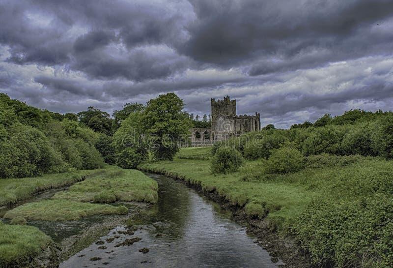 abbey tintern fotografia stock
