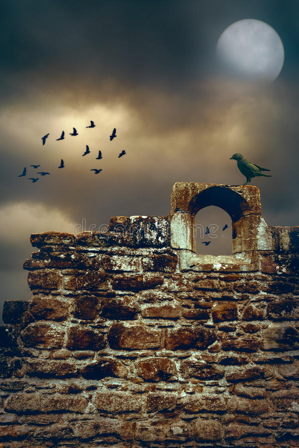 Abbey Wall lizenzfreies stockbild