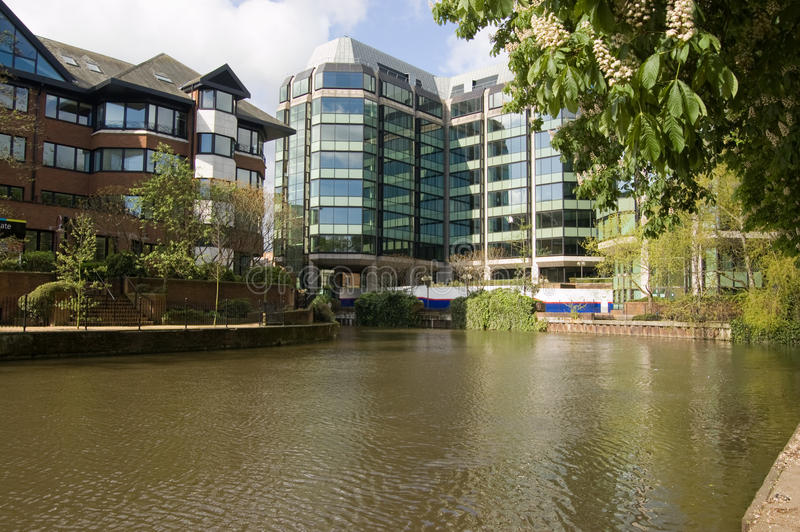 Download Abbey Wharf, Reading, Berkshire Stock Image - Image: 24757851