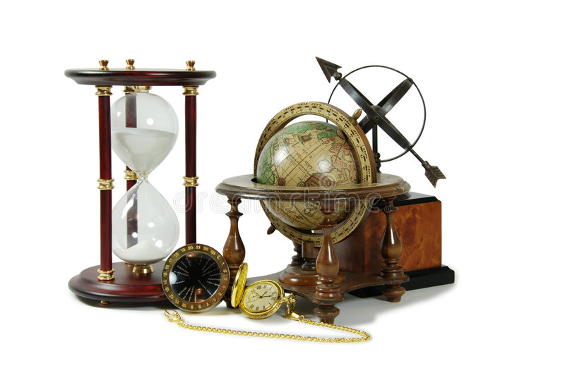 Abbia il tempo e distanza immagine stock