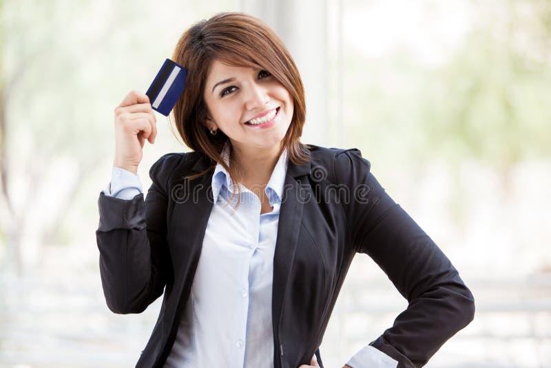 Abbiamo il diritto la carta di credito fotografie stock