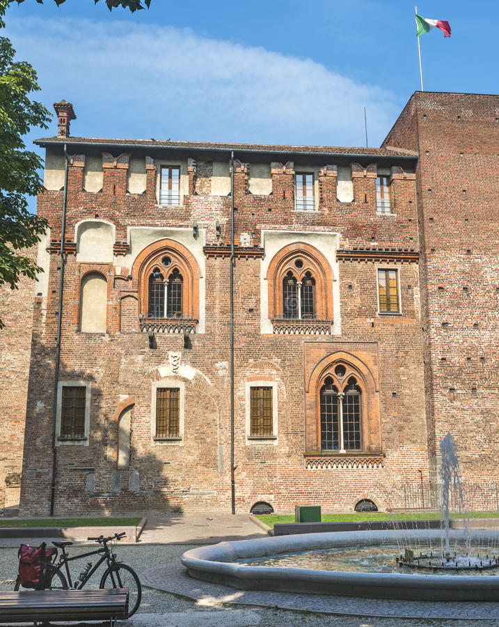 Abbiategrasso (Milán, Italia) foto de archivo