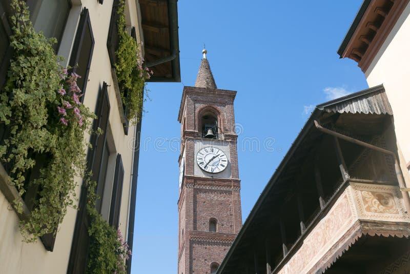 Abbiategrasso (Milaan, Italië) royalty-vrije stock afbeeldingen