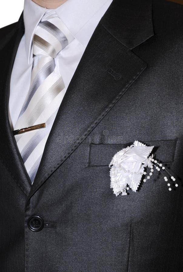 Abbigliamento degli sposi immagini stock