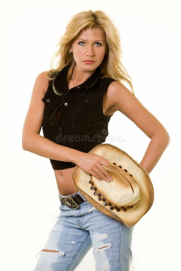Abbigliamento del Cowgirl immagini stock