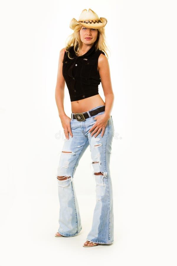 Abbigliamento del Cowgirl fotografia stock