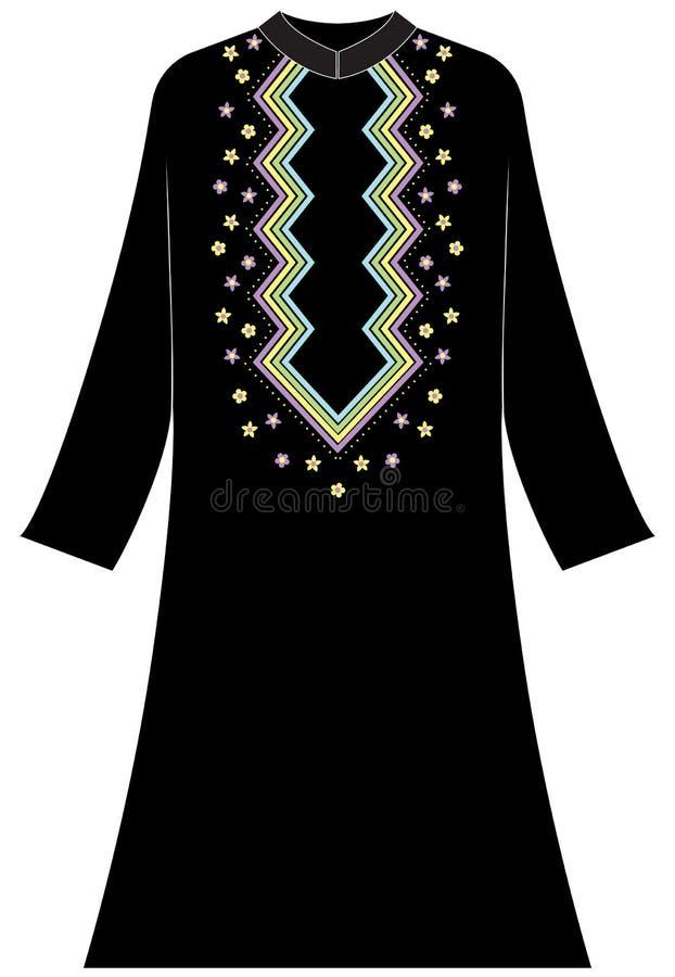 Abbigliamento del ` s delle donne: lo zigzag allinea i colori pastelli immagine stock
