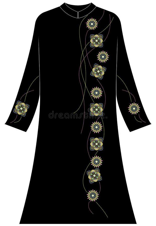 Abbigliamento del ` s delle donne: Scatola, cerchio e linee ciondolanti immagini stock libere da diritti