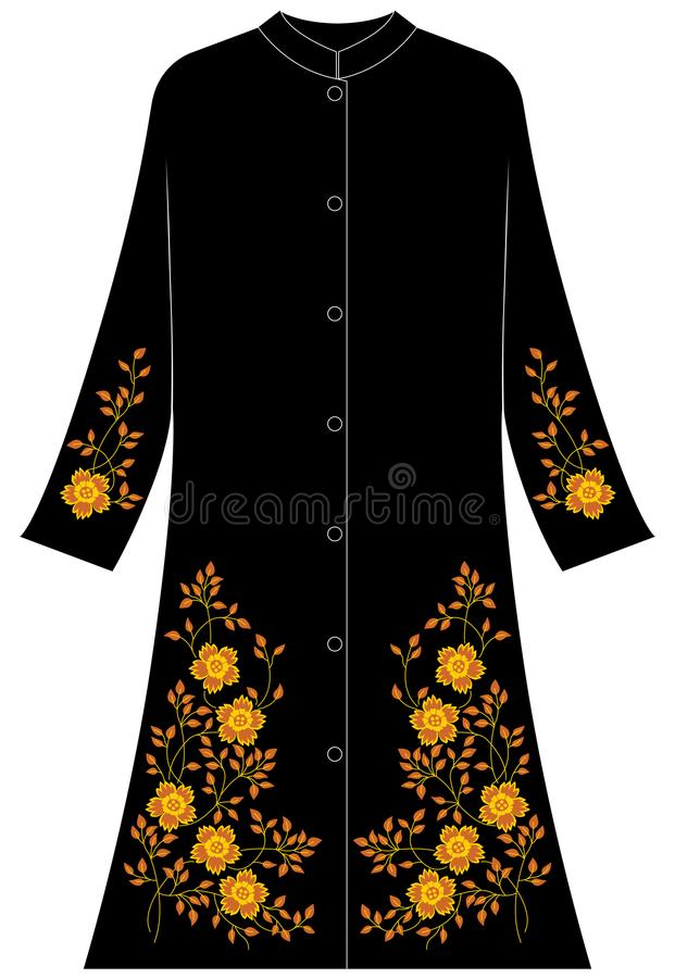 Abbigliamento del ` s delle donne: Un papavero di cinque petali immagine stock
