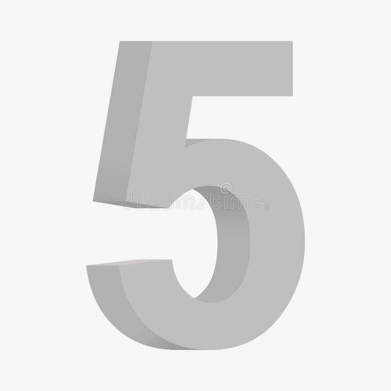 Abbildung 5 3D vektor abbildung