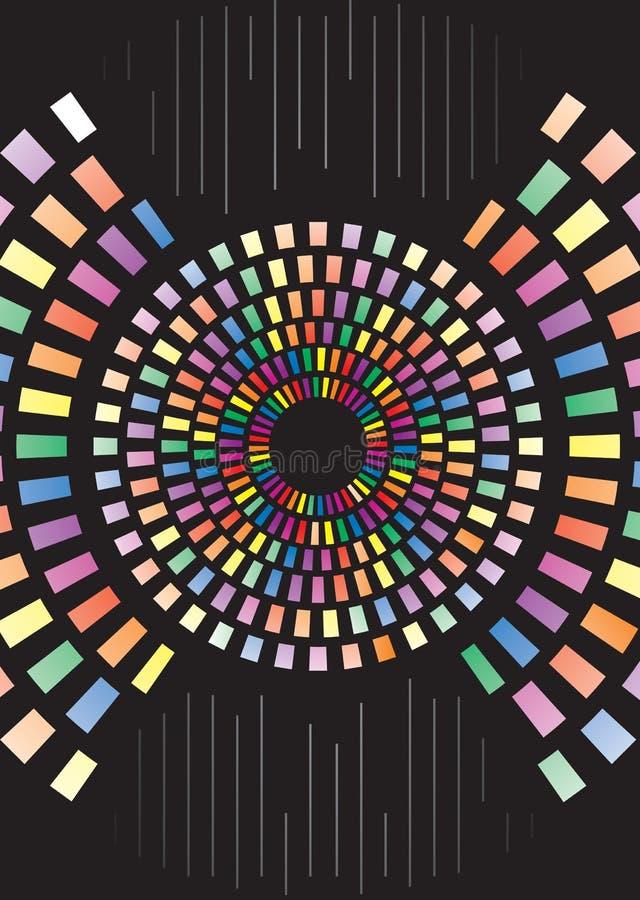 Abbildung der Farben-Kombination vektor abbildung