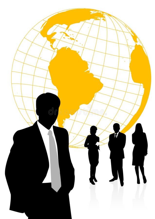 Abbildung der Geschäftsleute und der Frauen vektor abbildung
