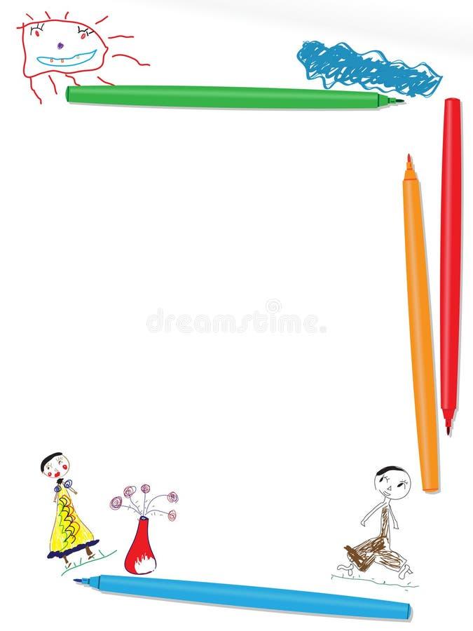 Abbildung der Kinder stock abbildung