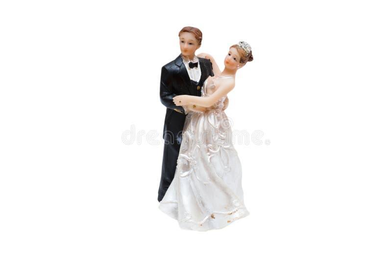 Abbildung des verliebten Tanzens lizenzfreies stockfoto