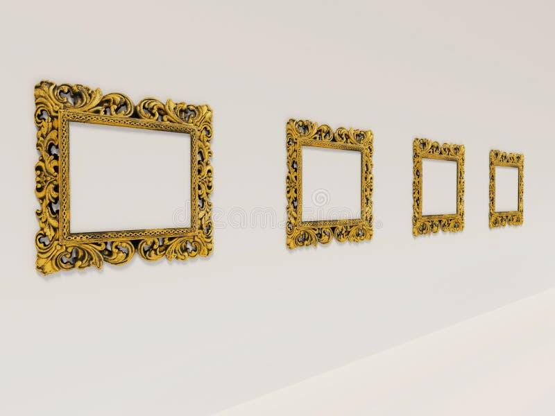 Abbildung-Galerie lizenzfreies stockfoto