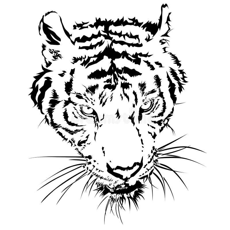 Abbildung getrennt auf weißem Hintergrund stock abbildung