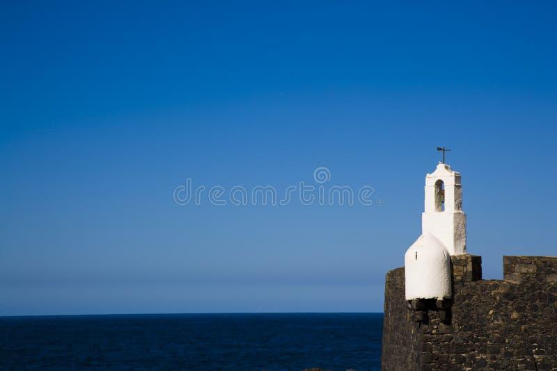 Abbildung von Garachico, Tenerife stockbilder
