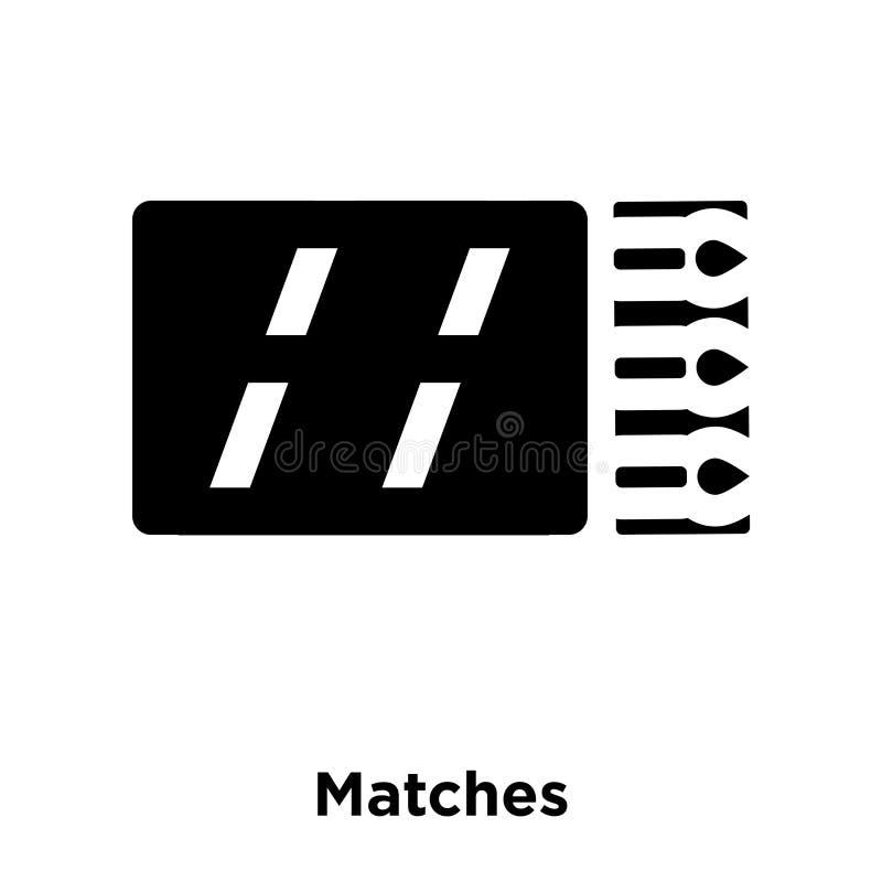 Abbina il vettore dell'icona isolato su fondo bianco, il concetto o di logo illustrazione vettoriale
