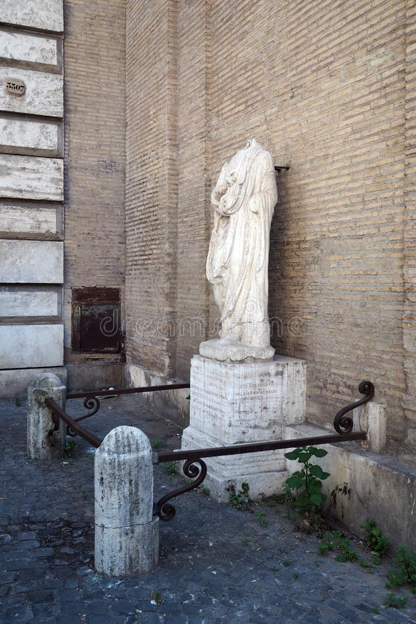 Abbot Luigi i Rome, Italien royaltyfria foton