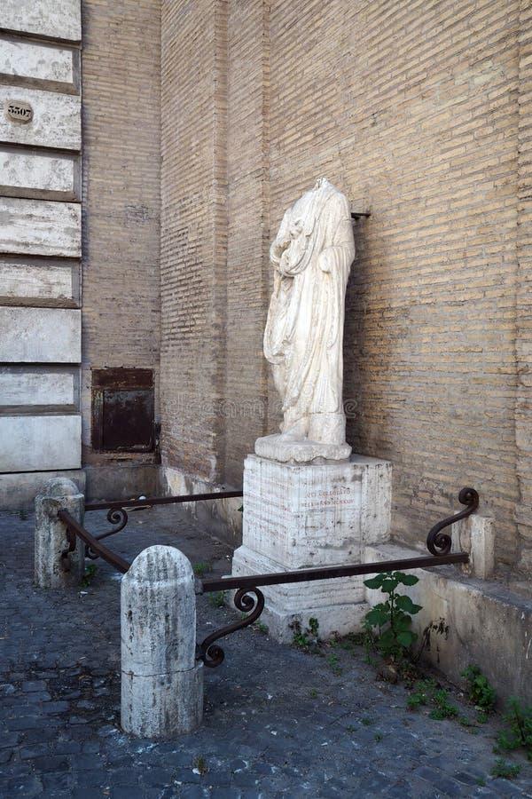 Abbot Luigi a Roma, Italia fotografie stock libere da diritti