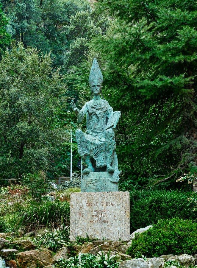 Abbot Olib Monument fotografering för bildbyråer