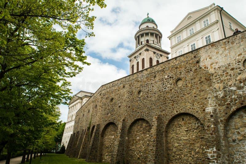 Abbotskloster av Pannonhalma royaltyfri bild