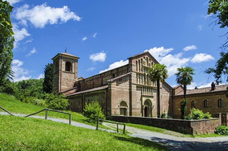Abbotskloster av Vezzolano royaltyfri bild