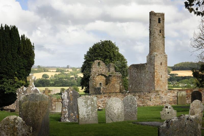 Abbotskloster för St Mary ` s ferns Co Wexford ireland royaltyfria bilder