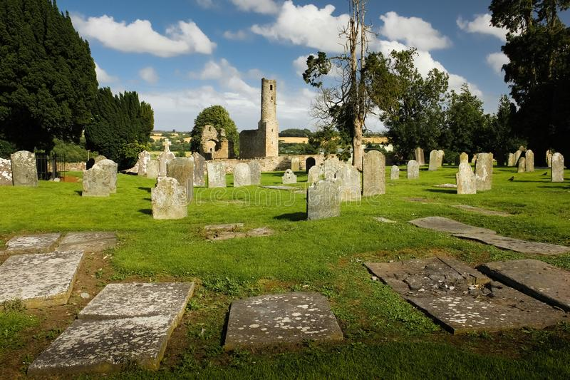 Abbotskloster för St Mary ` s ferns Co Wexford ireland royaltyfri bild
