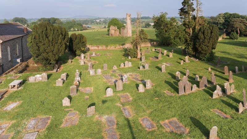 Abbotskloster för St Mary ` s ferns Co Wexford ireland fotografering för bildbyråer
