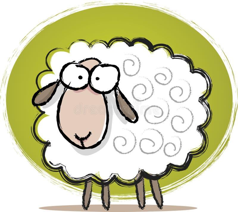 Abbozzo sveglio delle pecore