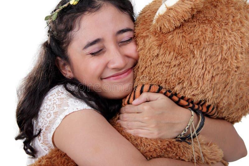 Download Abbraccimi strettamente fotografia stock. Immagine di bambola - 56886410