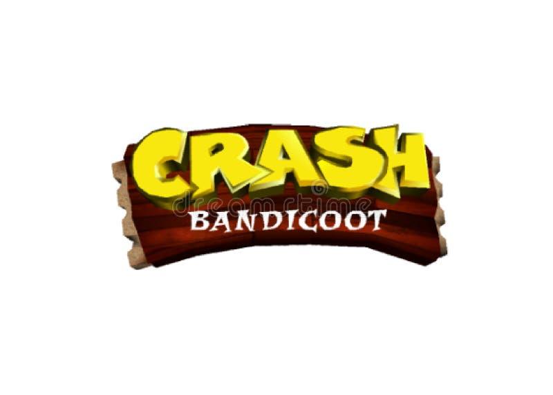 Abbruch Bandicoot-Logo vektor abbildung