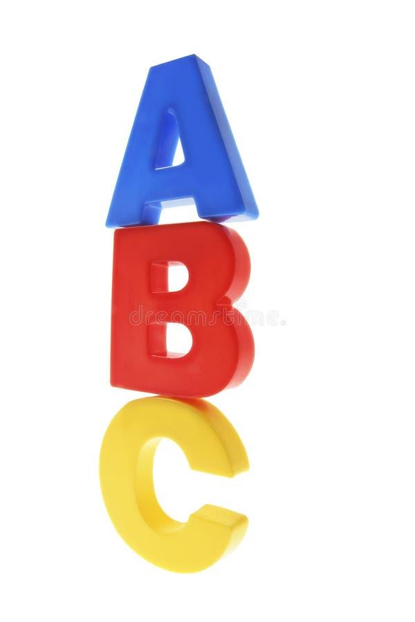abc字母表 免版税库存照片