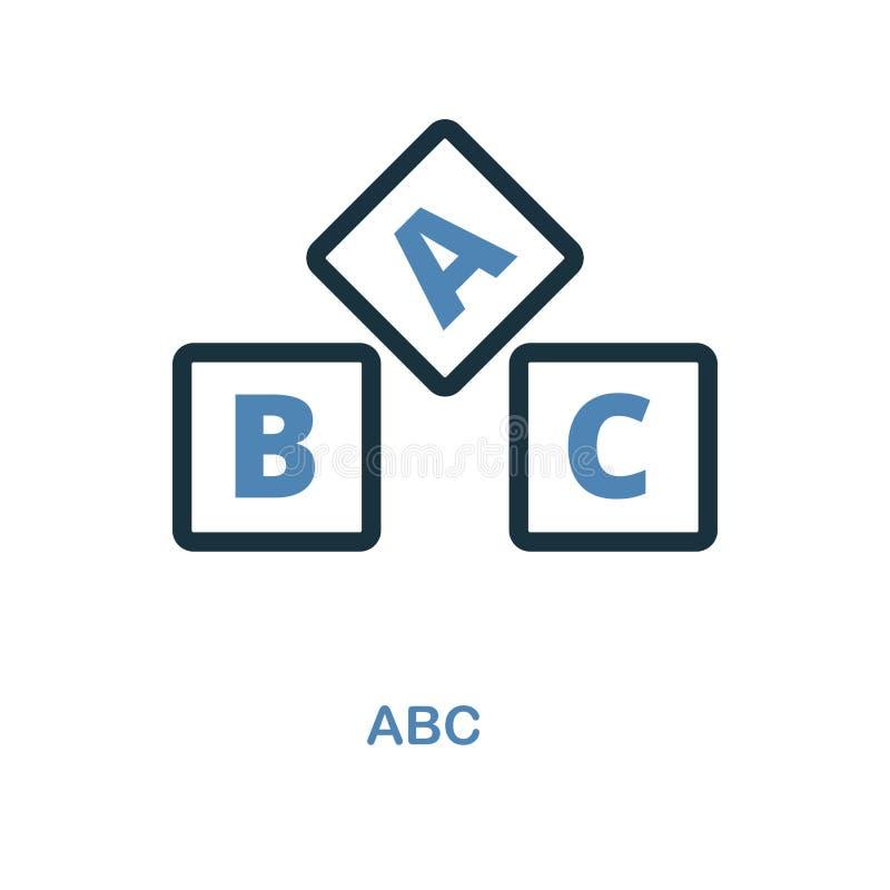 ABC象 简单的元素例证 从教育汇集的Abc映象点完善的象设计 使用为网络设计,应用程序,softwa 向量例证