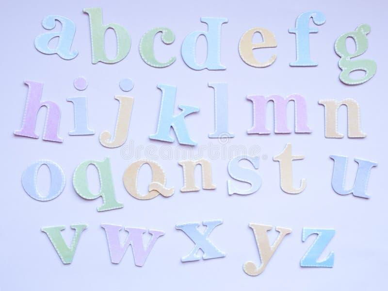 ABC бумаги стоковые изображения