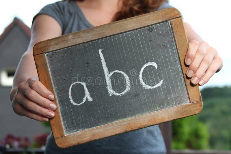 ABC royalty-vrije stock afbeelding