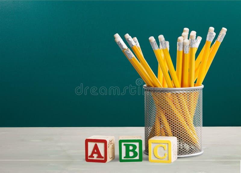 ABC stock foto