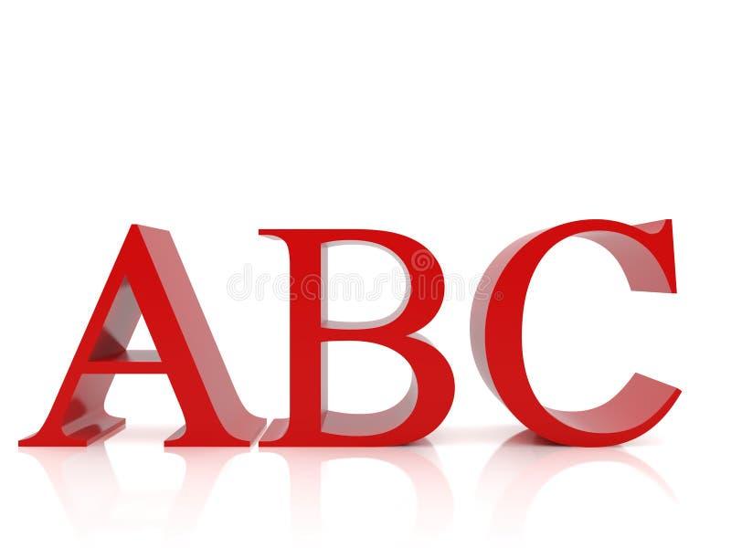 ABC ilustração royalty free