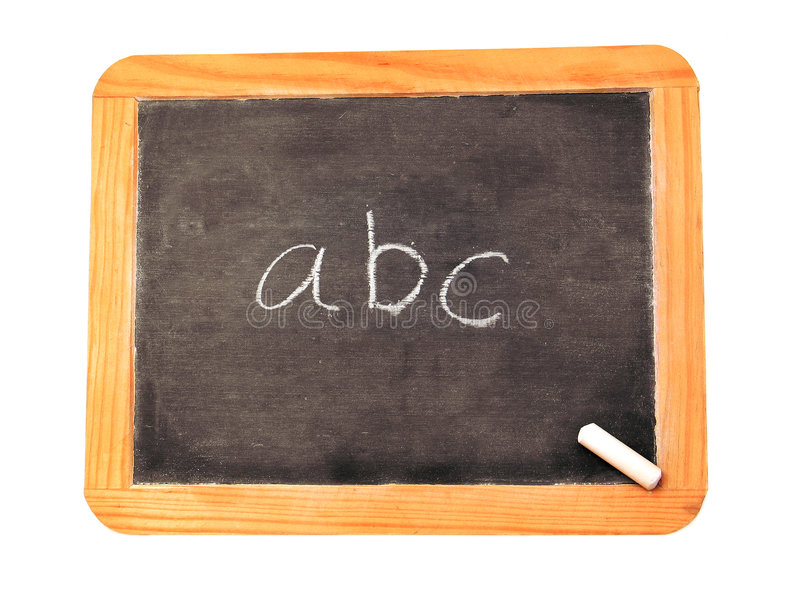 ABC lizenzfreies stockfoto