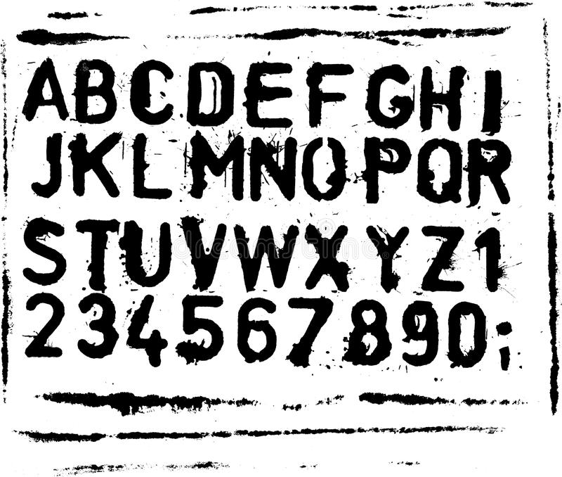ABC vector illustratie
