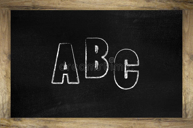 abc 免版税库存图片