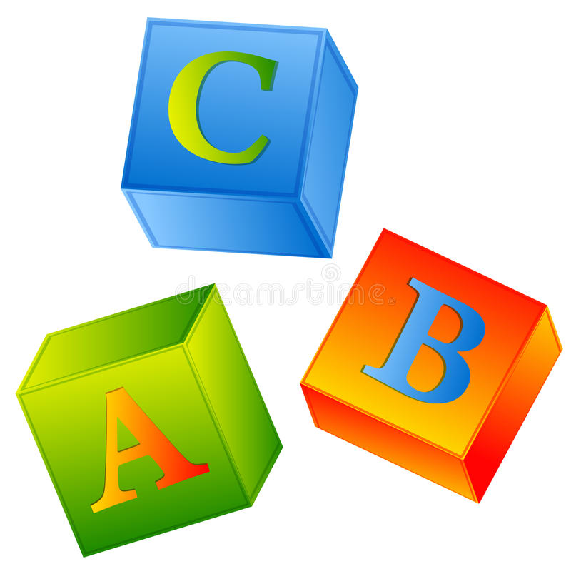 Download Abc stock vector. Image of elementary, play, language - 20742842