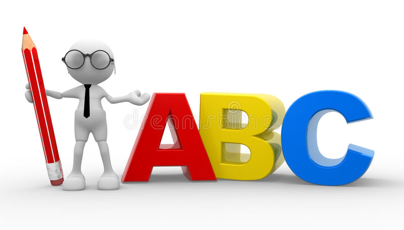 Download ABC stock illustration. Image of idea, different, college - 26251035