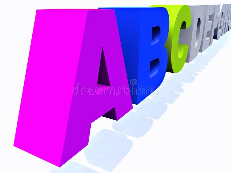 Download Abc иллюстрация штока. иллюстрации насчитывающей график - 33737167