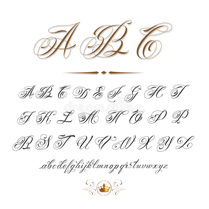 ABC illustrazione di stock